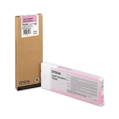Inkoustová náplň Epson T606C světlá červená