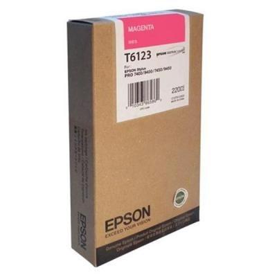 Inkoustová náplň Epson T6123 červená