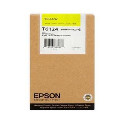 Inkoustová náplň Epson T6124 žlutá