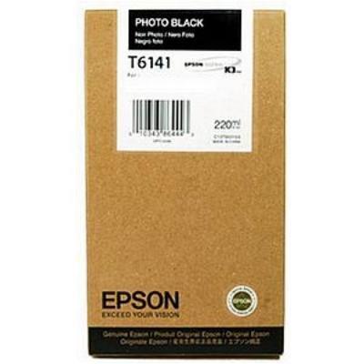 Inkoustová náplň Epson T6141 foto černá