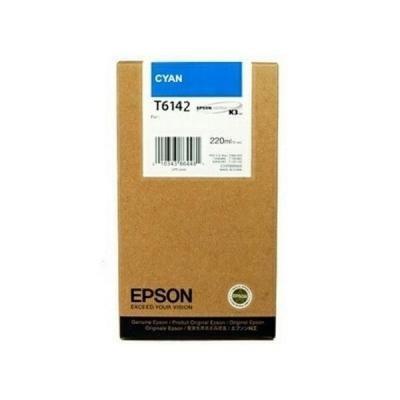 Inkoustová náplň Epson T6142 modrá