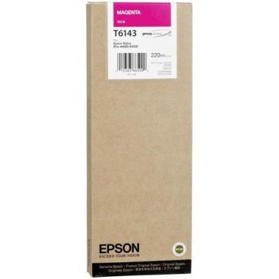 Inkoustová náplň Epson T6143 červená