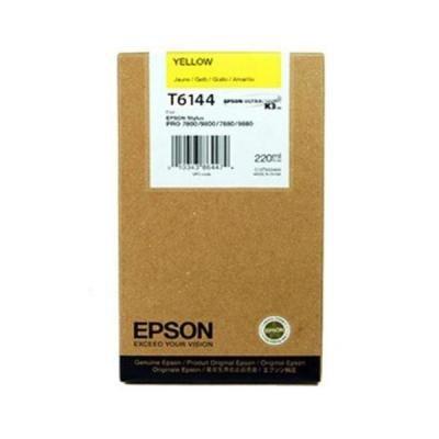 Inkoustová náplň Epson T6144 žlutá