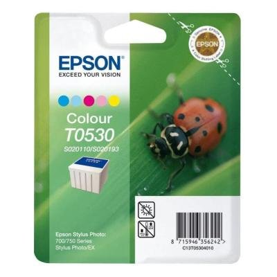 Inkoustová náplň Epson T0530 CMY