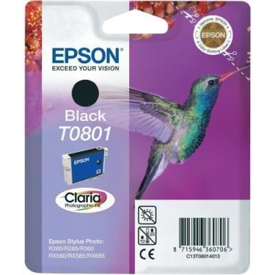 Inkoustová náplň Epson T0801 černá