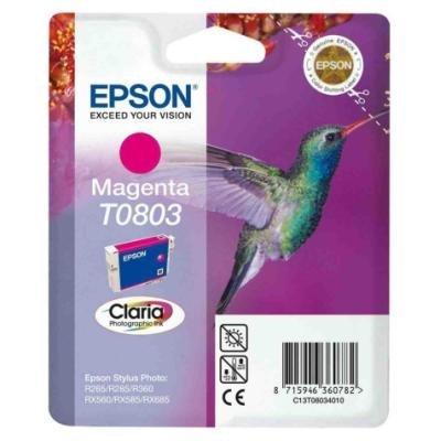 Inkoustová náplň Epson T0803 červená