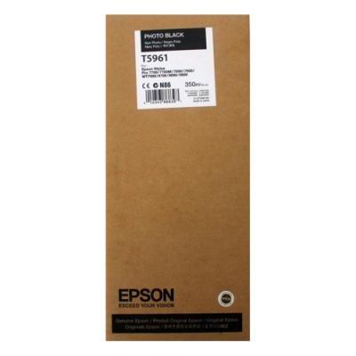 Inkoustová náplň Epson T5961 foto černá