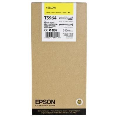 Inkoustová náplň Epson T5964 žlutá