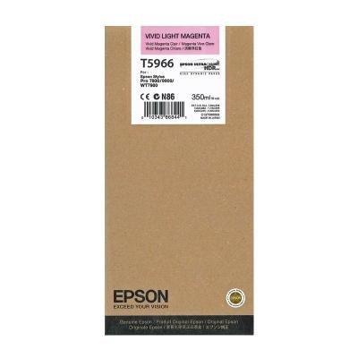 Inkoustová náplň Epson T5966 světlá jasná červená