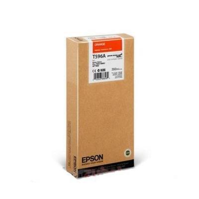 Inkoustová náplň Epson T596A oranžová