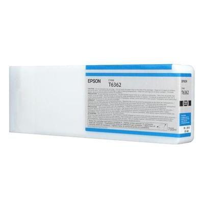 Inkoustová náplň Epson T6362 modrá