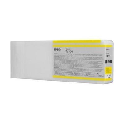 Inkoustová náplň Epson T6364 žlutá