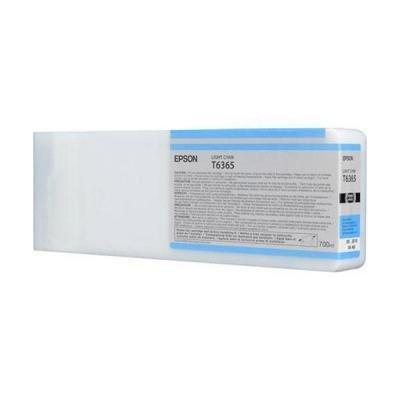 Inkoustová náplň Epson T6365 světlá modrá