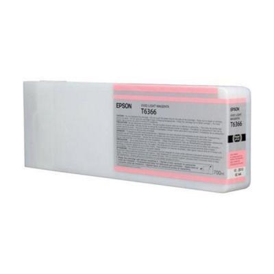 Inkoustová náplň Epson T6366 světlá jasná červená
