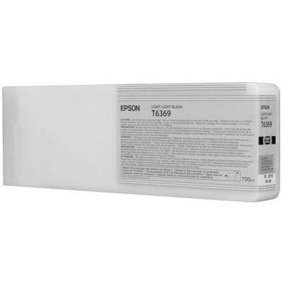 Inkoustová náplň Epson T6369 světle světlá černá