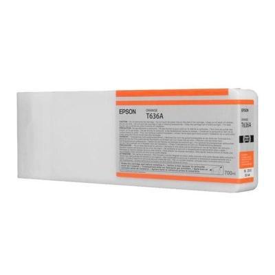 Inkoustová náplň Epson T636A oranžová