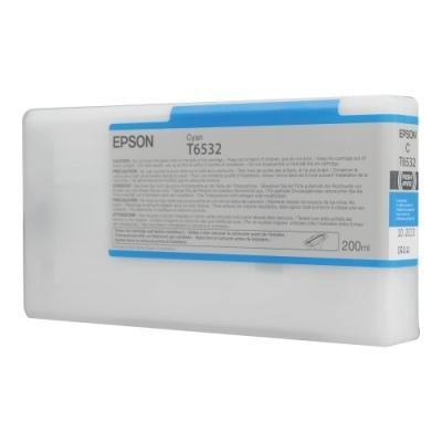 Inkoustová náplň Epson T6532 modrá