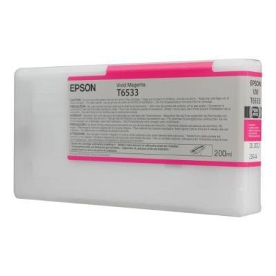 Inkoustová náplň Epson T6533 jasná červená
