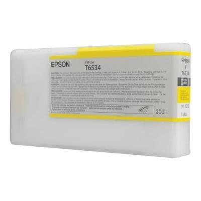 Inkoustová náplň Epson T6534 žlutá