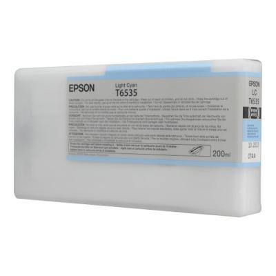 Inkoustová náplň Epson T6535 světlá modrá