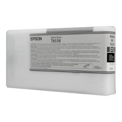 Inkoustová náplň Epson T6538 matná černá