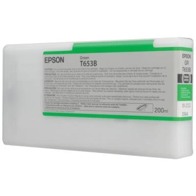 Inkoustová náplň Epson T653B zelená