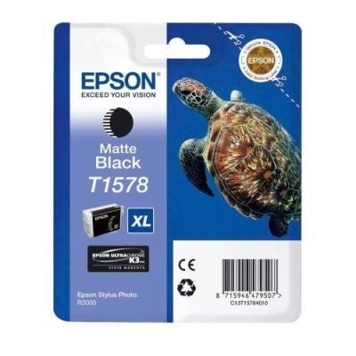 Inkoustová náplň Epson T1578 matná černá