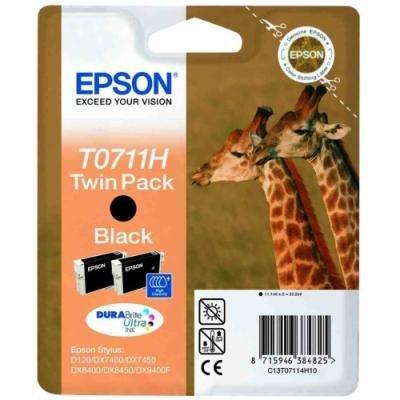 Inkoustová náplň Epson T0711H černá
