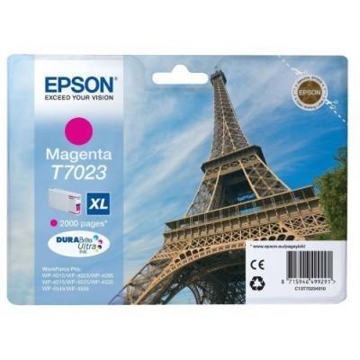 Inkoustová náplň Epson T7023 červená