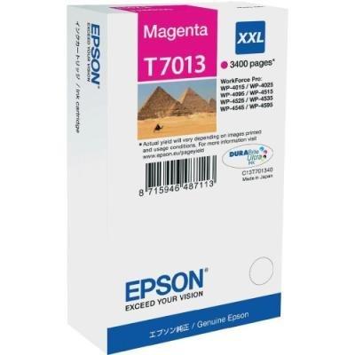 Inkoustová náplň Epson T7013 červená