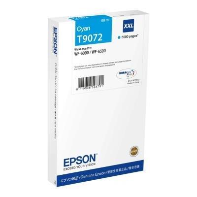 Inkoustová náplň Epson T9072 XXL modrá