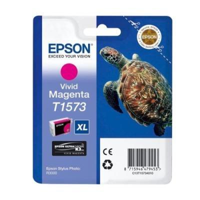 Inkoustová náplň Epson T1573 jasná červená