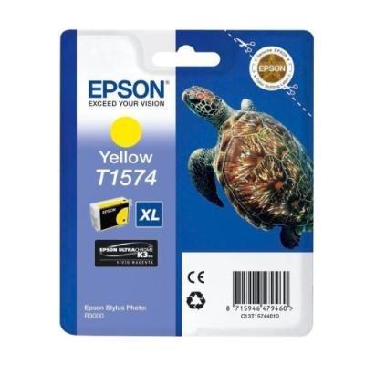 Inkoustová náplň Epson T1574 žlutá