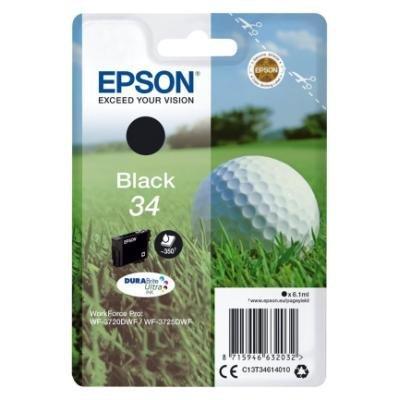 Inkoustová náplň Epson T3461 černá