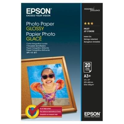 Fotopapír Epson Glossy A3+ 20ks