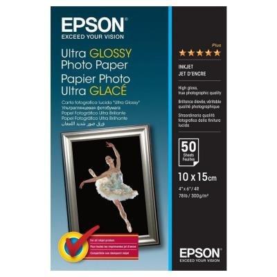 Fotopapír Epson Ultra Glossy 10x15cm 50ks