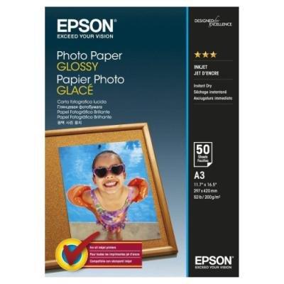 Fotopapír Epson Glossy A3 50ks