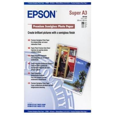 Fotopapír Epson Premium Semigloss A3+ 20ks