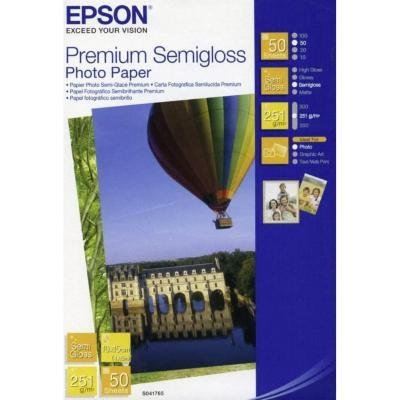 Fotopapír Epson Premium Semigloss 10x15cm 50ks