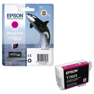 Inkoustová náplň Epson T7603 jasná červená