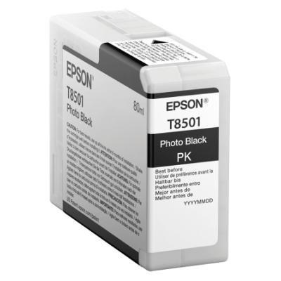 Inkoustová náplň Epson T8501 foto černá