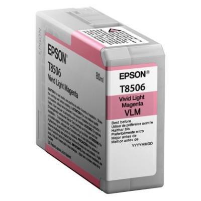 Inkoustová náplň Epson T8506 světle červená