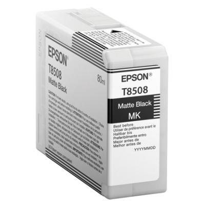 Inkoustová náplň Epson T8508 matná černá