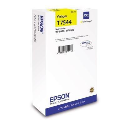 Inkoustová náplň Epson T7544 XXL žlutá