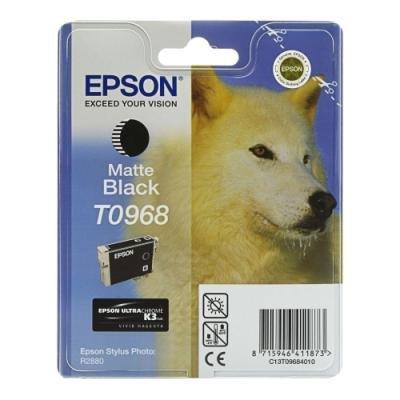 Inkoustová náplň Epson T0968 matná černá