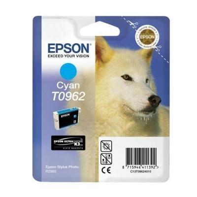 Inkoustová náplň Epson T0962 modrá