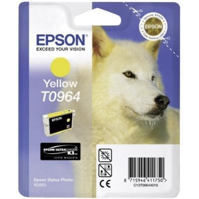 Inkoustová náplň Epson T0964 žlutá