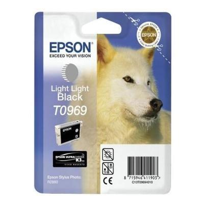 Inkoustová náplň Epson T0969 světlá světlá černá