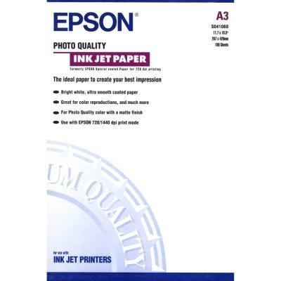 Fotopapír Epson Quality Inkjet Paper A3 100ks