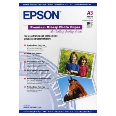 Fotopapír Epson Premium Glossy A3 20ks